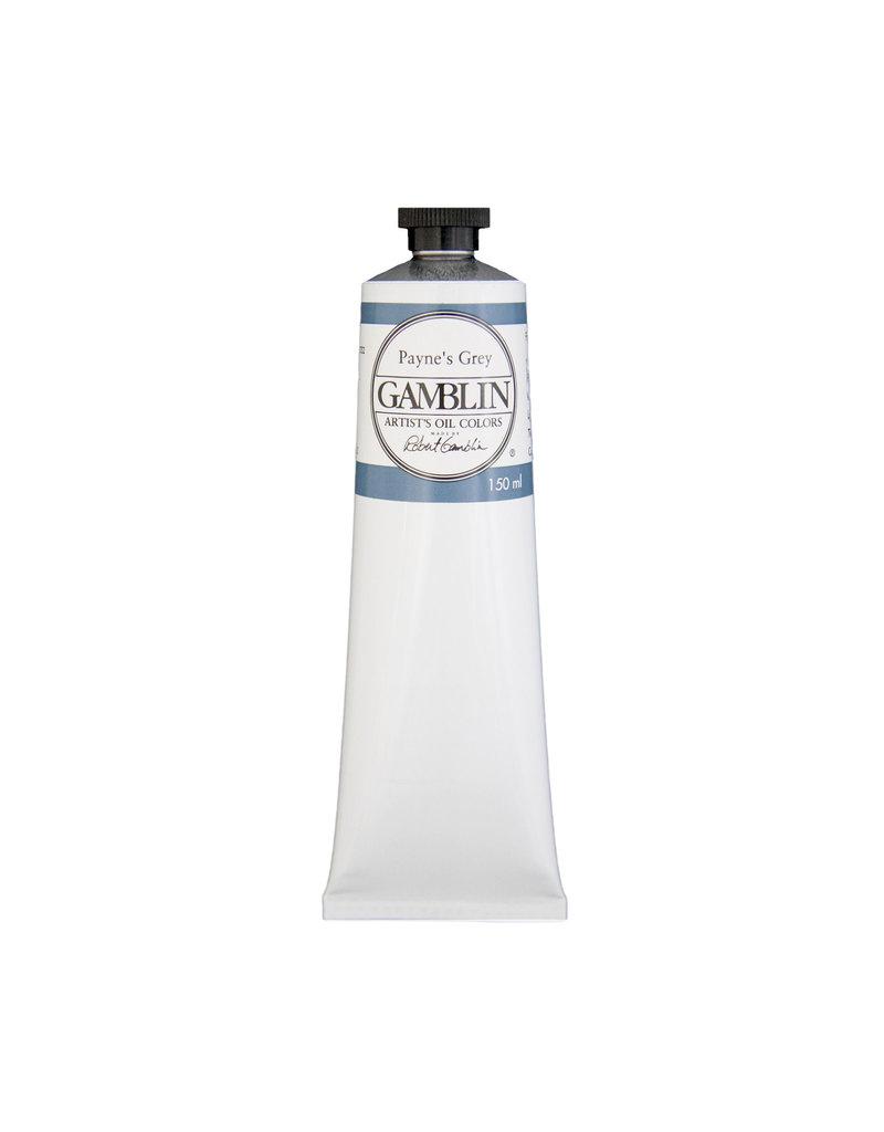 Gamblin Art Oil 150Ml Paynes Grey