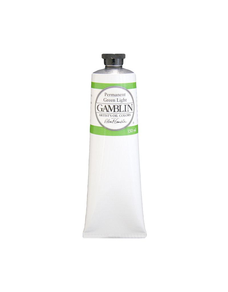 Gamblin Art Oil 150Ml Permanent Green Light