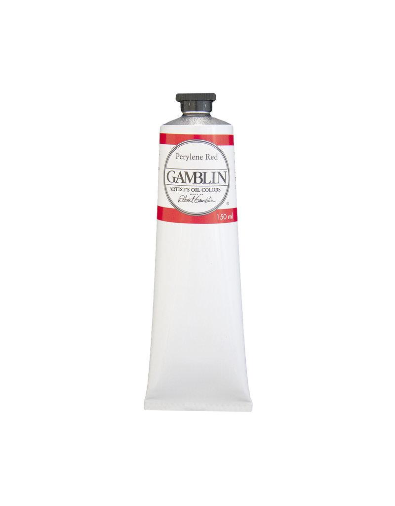 Gamblin Art Oil 150Ml Perylene Red