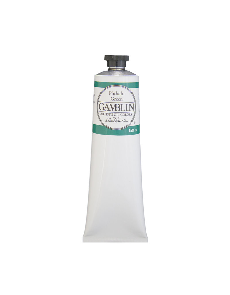 Gamblin Art Oil 150Ml Phthalo Green
