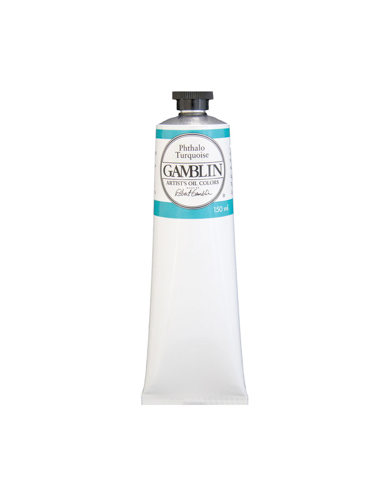 Gamblin Art Oil 150Ml Phthalo Turquoise