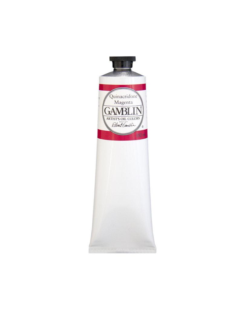 Gamblin Art Oil 150Ml Quinacridone Magenta