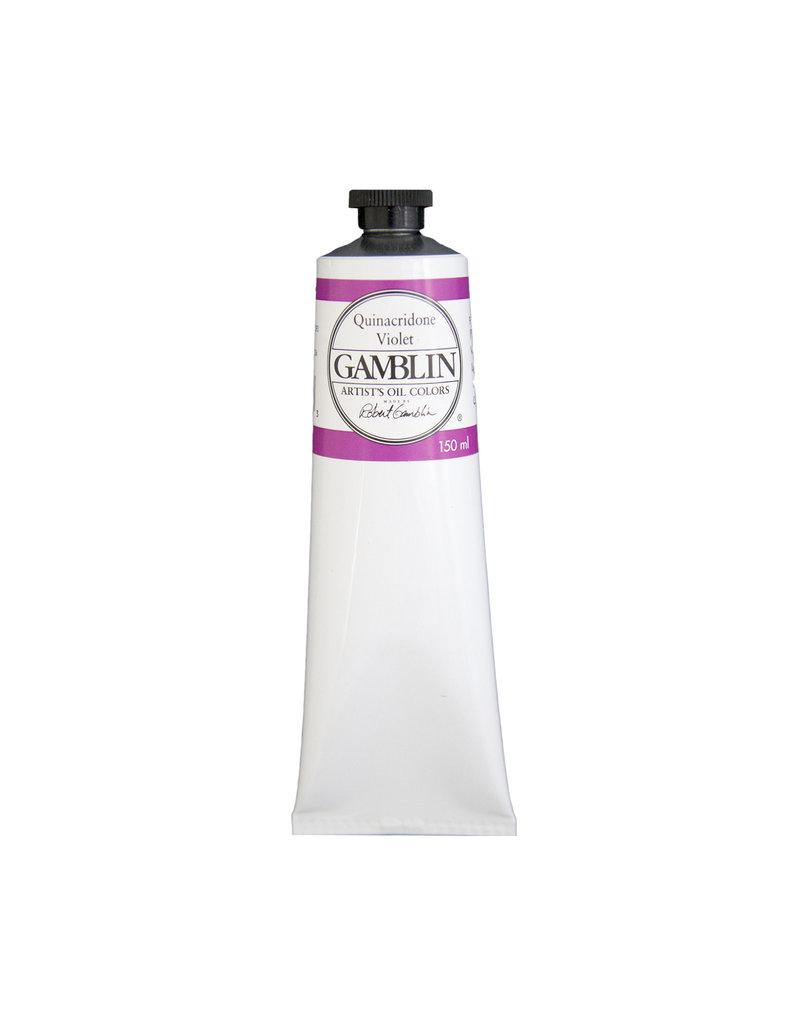 Gamblin Art Oil 150Ml Quinacridone Violet