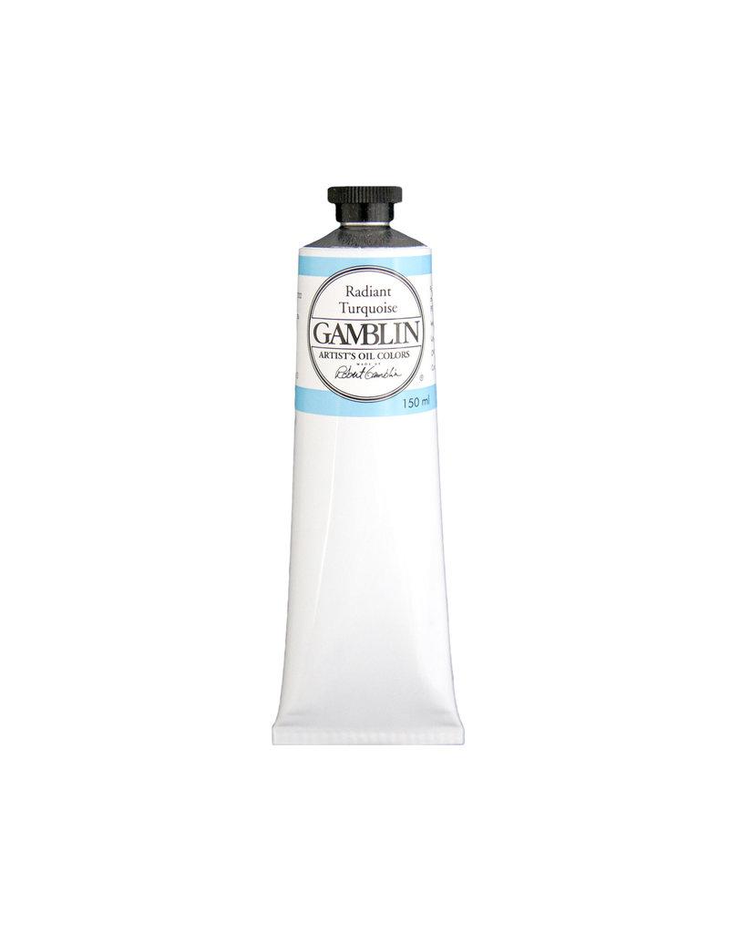 Gamblin Art Oil 150Ml Radiant Turquois