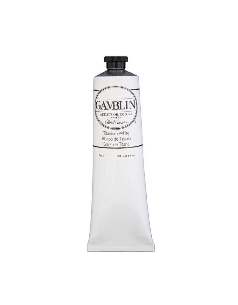 Gamblin Art Oil 150Ml Titanium White