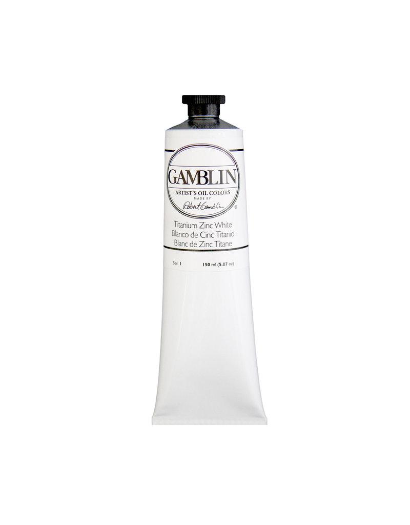 Gamblin Art Oil 150Ml Titanium-Zinc White