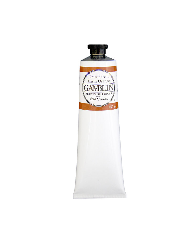 Gamblin Art Oil 150Ml Transparent Earth Orange