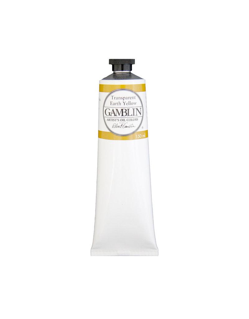 Gamblin Art Oil 150Ml Transparent Earth Yellow