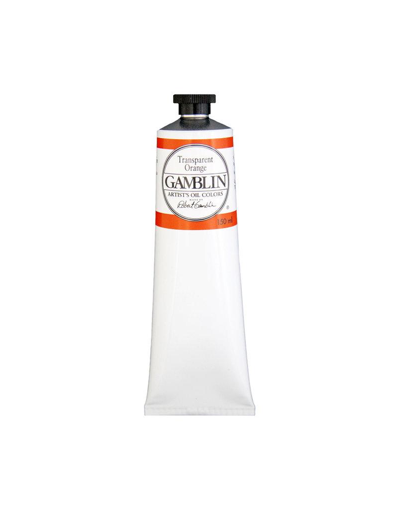 Gamblin Art Oil 150Ml Transparent Orange