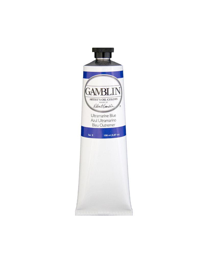 Gamblin Art Oil 150Ml Ultramarine Blue