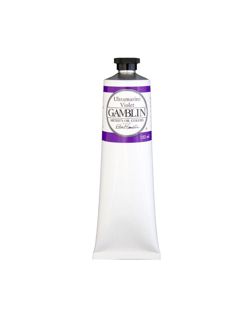 Gamblin Art Oil 150Ml Ultramarine Violet