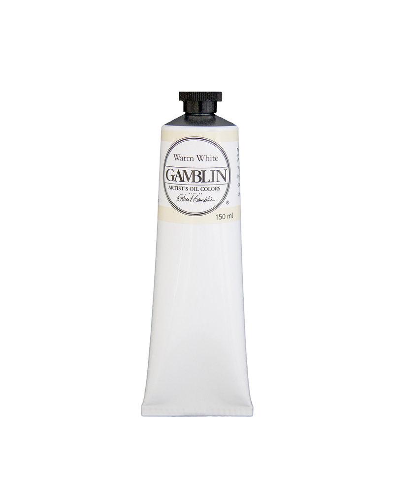 Gamblin Art Oil 150Ml Warm White