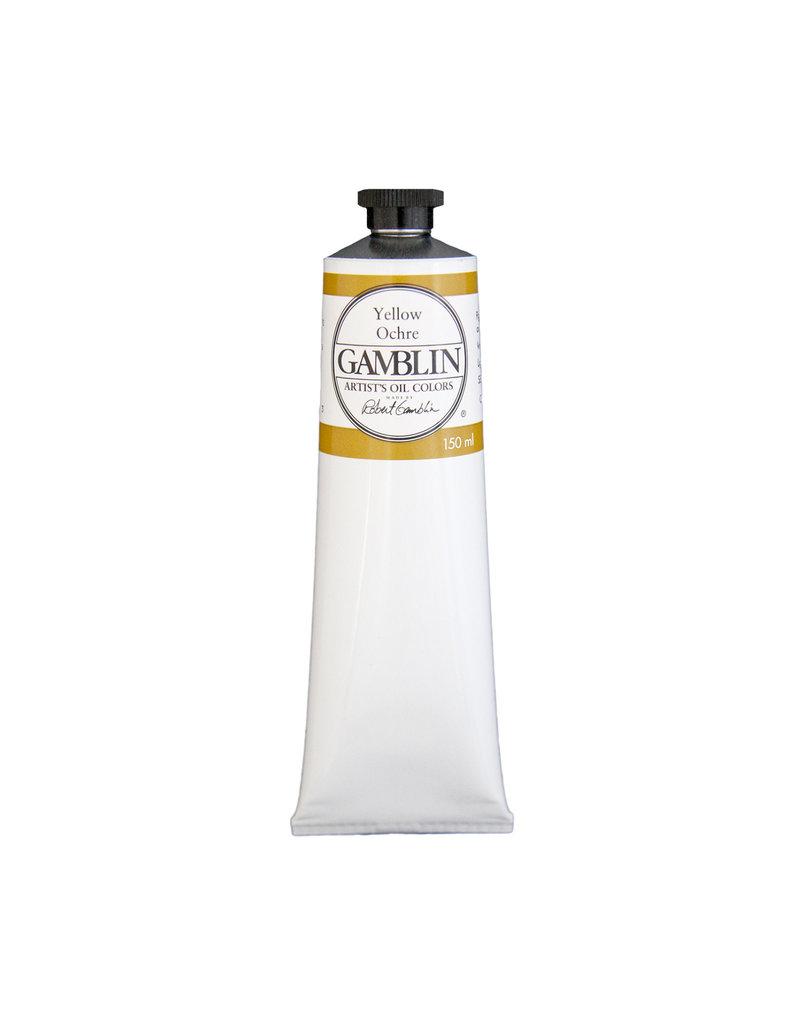 Gamblin Art Oil 150Ml Yellow Ochre