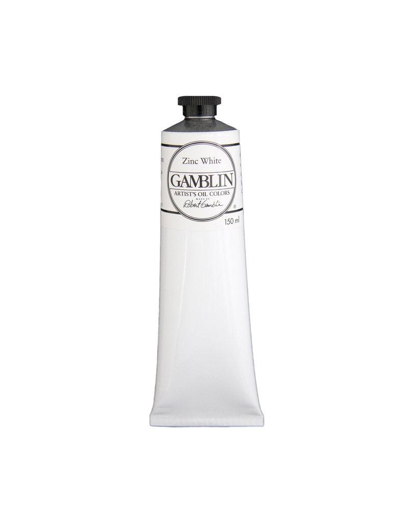 Gamblin Art Oil 150Ml Zinc White