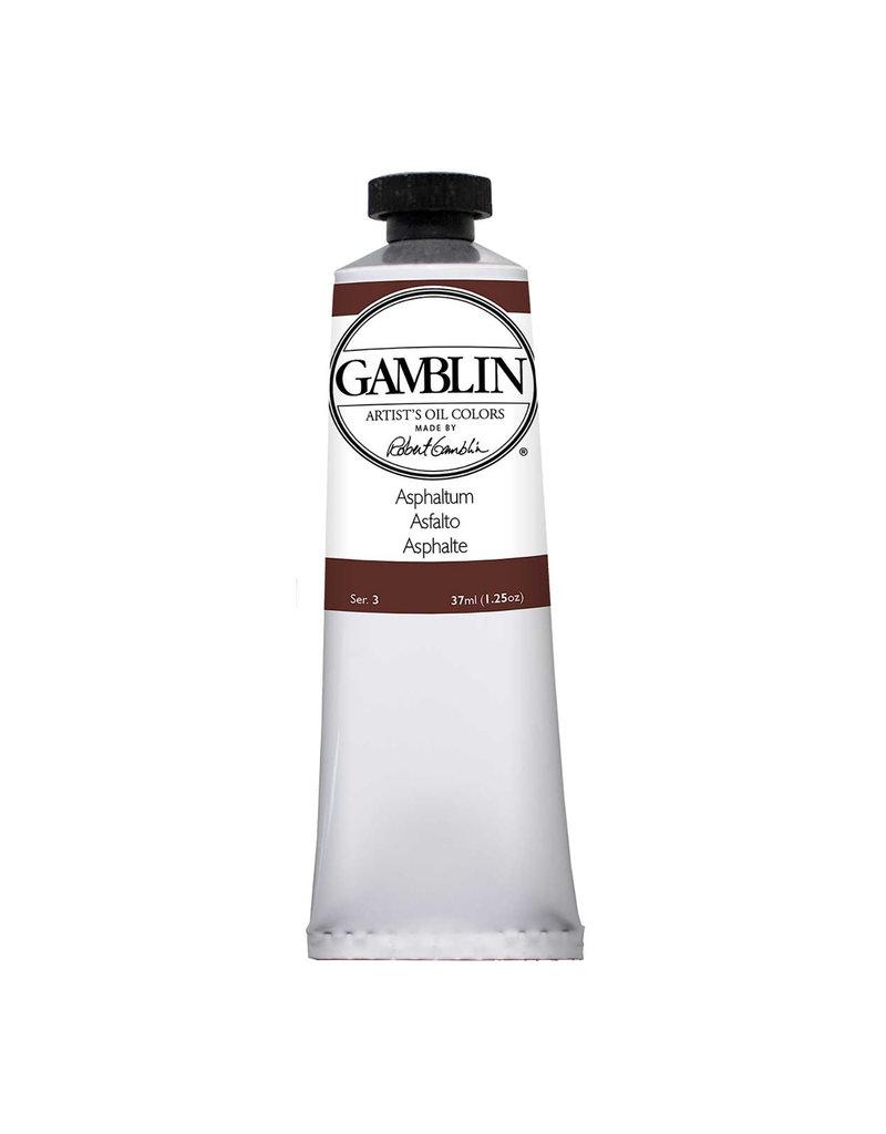 Gamblin Art Oil 37Ml Asphaltum