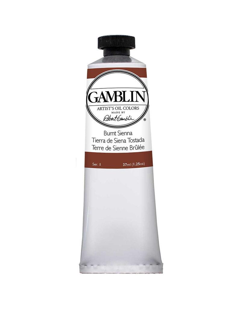 Gamblin Art Oil 37Ml Burnt Sienna