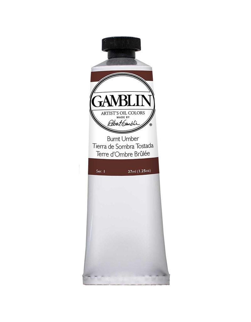 Gamblin Art Oil 37Ml Burnt Umber