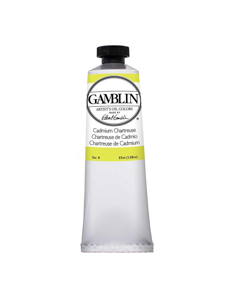 Gamblin Art Oil 37Ml Cadmium Chartreuse