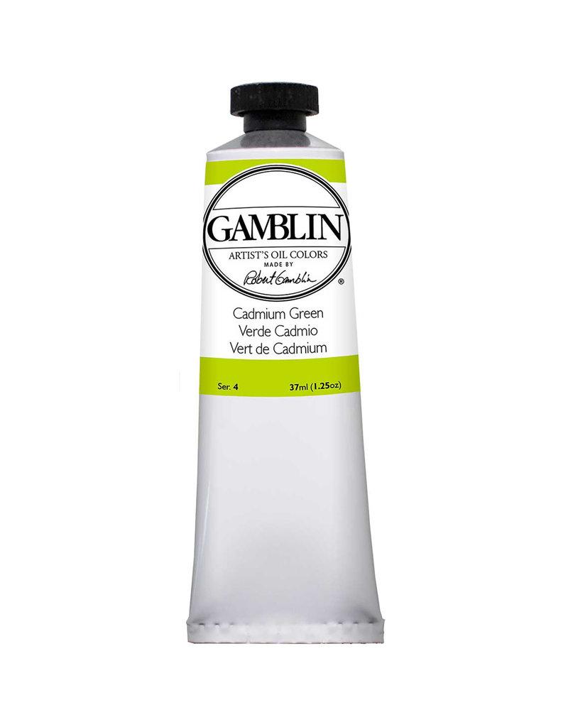 Gamblin Art Oil 37Ml Cadmium Green