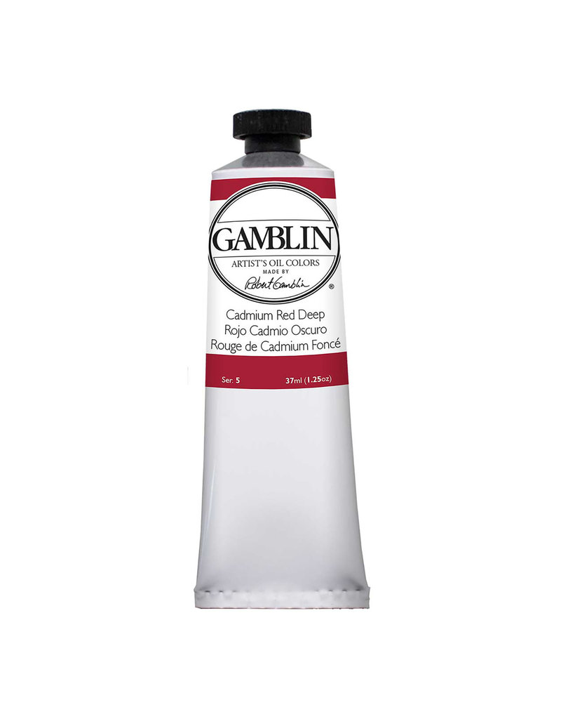 Gamblin Art Oil 37Ml Cadmium Red Deep