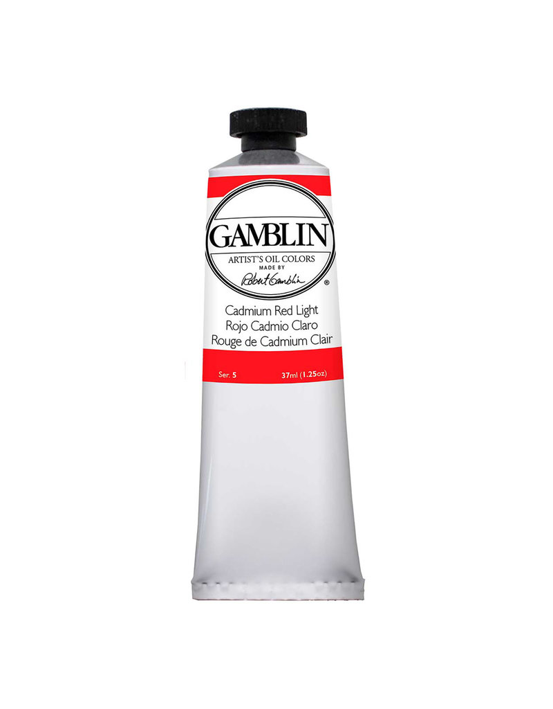 Gamblin Art Oil 37Ml Cadmium Red Light