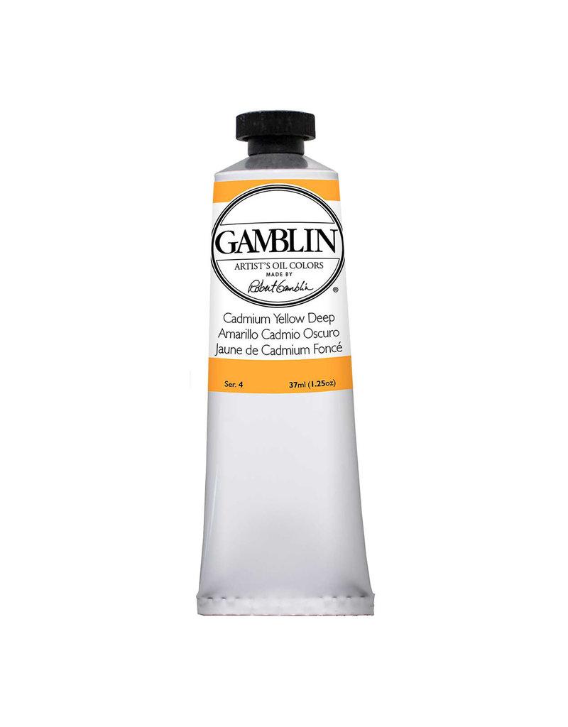 Gamblin Art Oil 37Ml Cadmium Yellow Deep