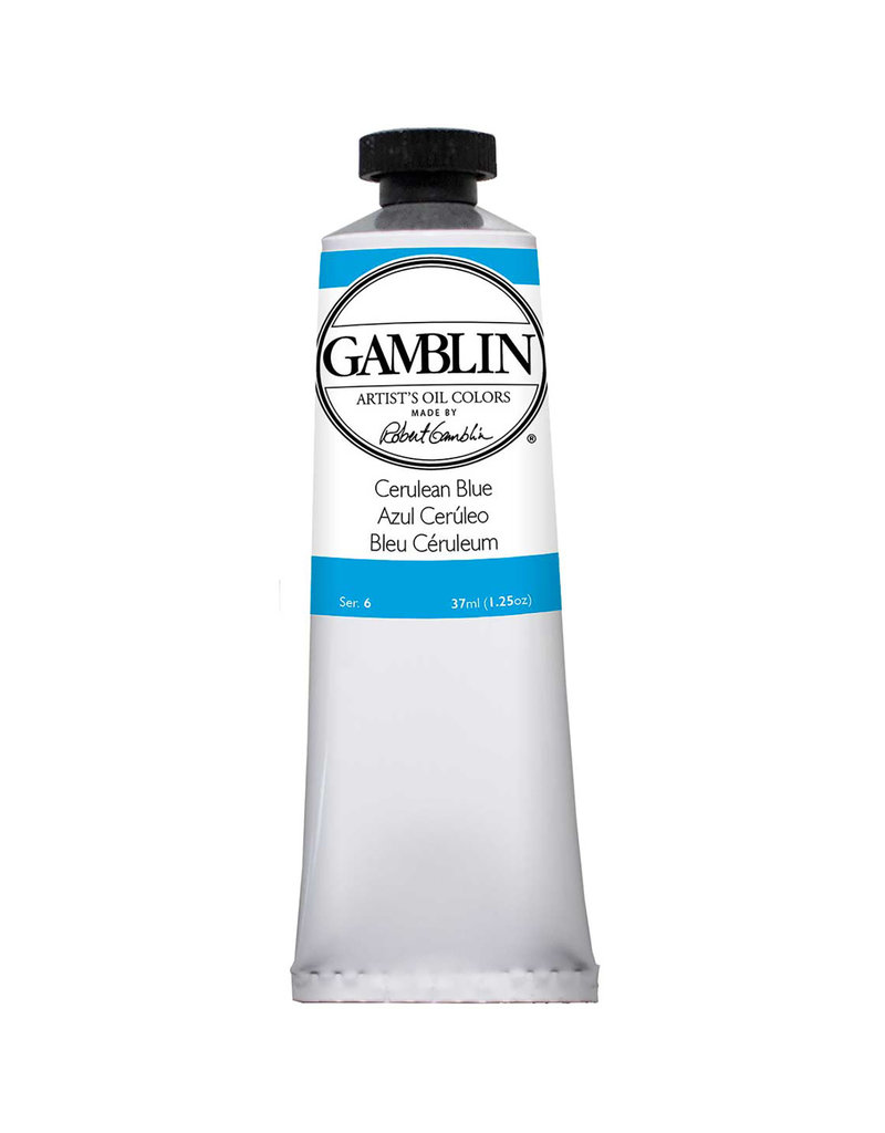 Gamblin Art Oil 37Ml Cerulean Blue