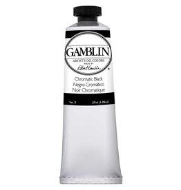 Gamblin Art Oil 37Ml Chromatic Black