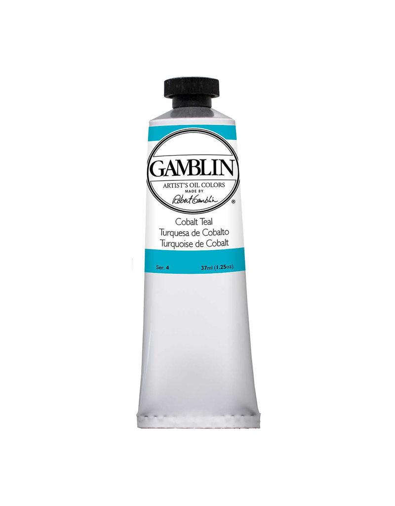 Gamblin Art Oil 37Ml Cobalt Teal