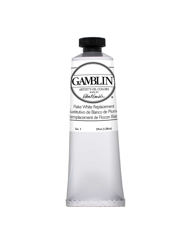 Gamblin Art Oil 37Ml Flake White Replacement