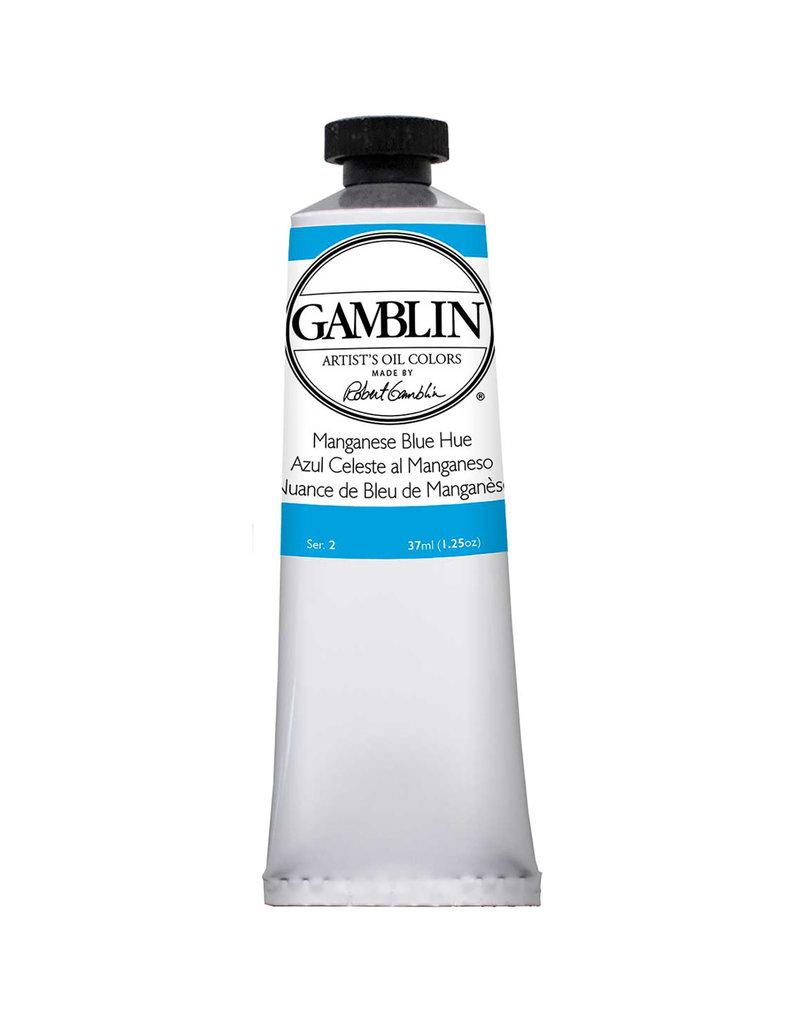 Gamblin Art Oil 37Ml Manganese Blue Hue