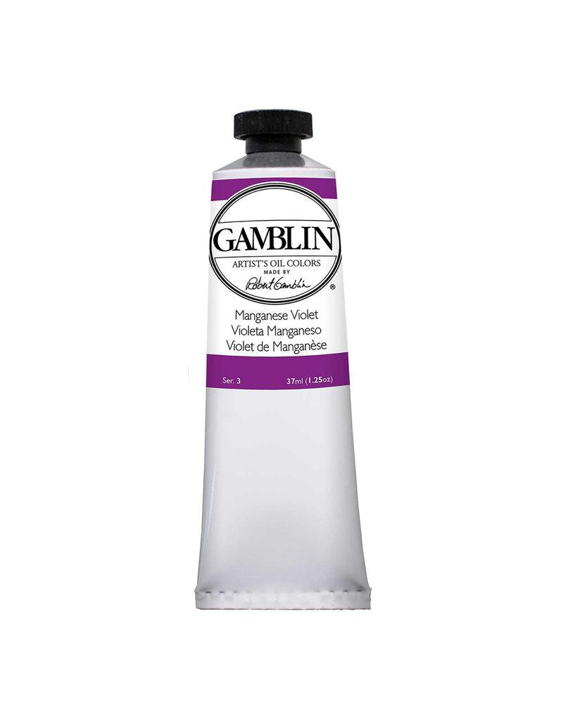 Gamblin Art Oil 37Ml Manganese Violet