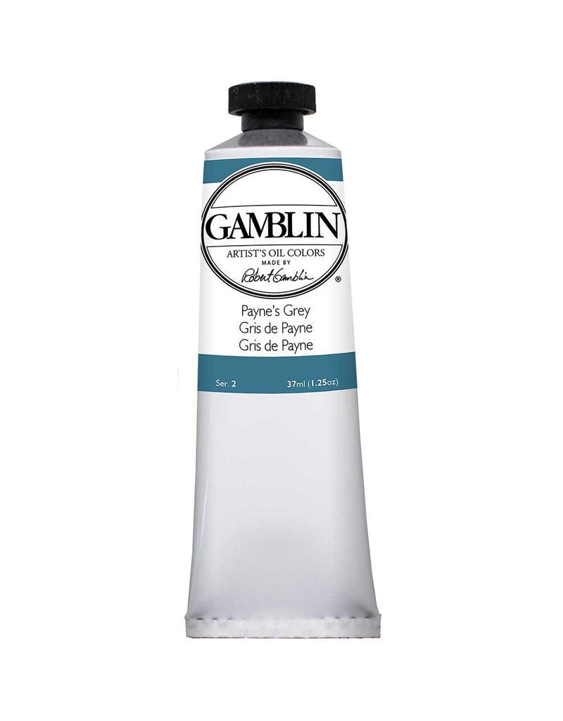 Gamblin Art Oil 37Ml Paynes Grey