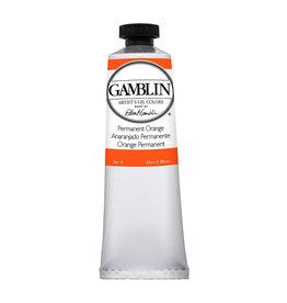 Gamblin Art Oil 37Ml Permanent Orange