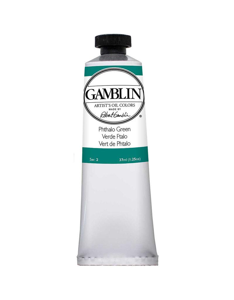 Gamblin Art Oil 37Ml Phthalo Green