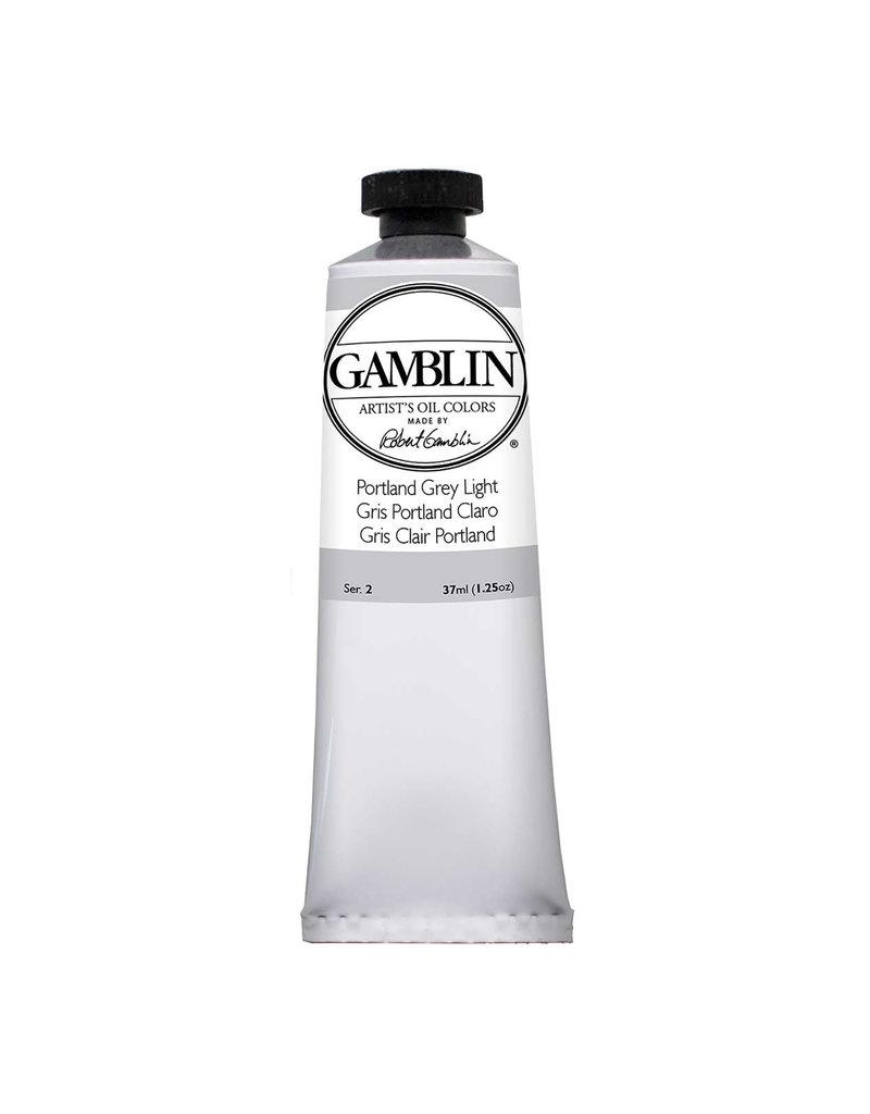 Gamblin Art Oil 37Ml Portland Grey Light