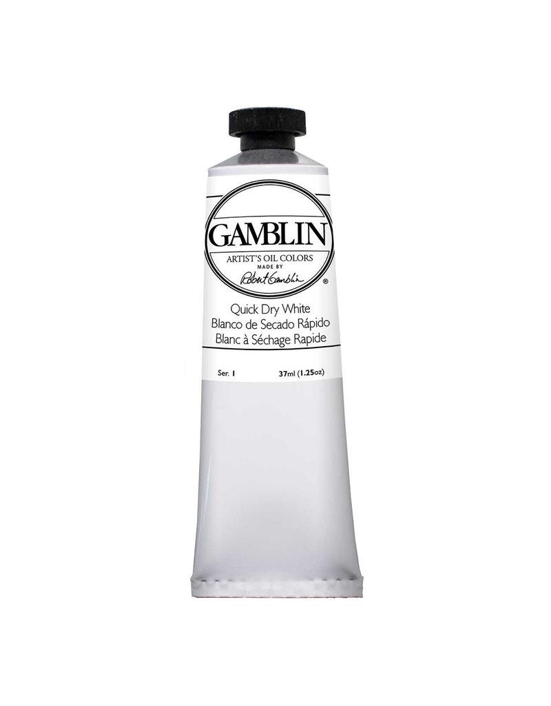 Gamblin Art Oil 37Ml Quick Dry White