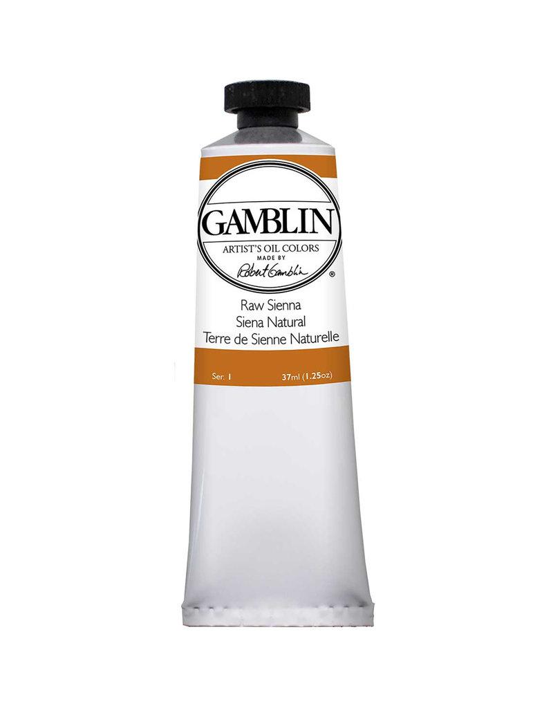 Gamblin Art Oil 37Ml Raw Sienna