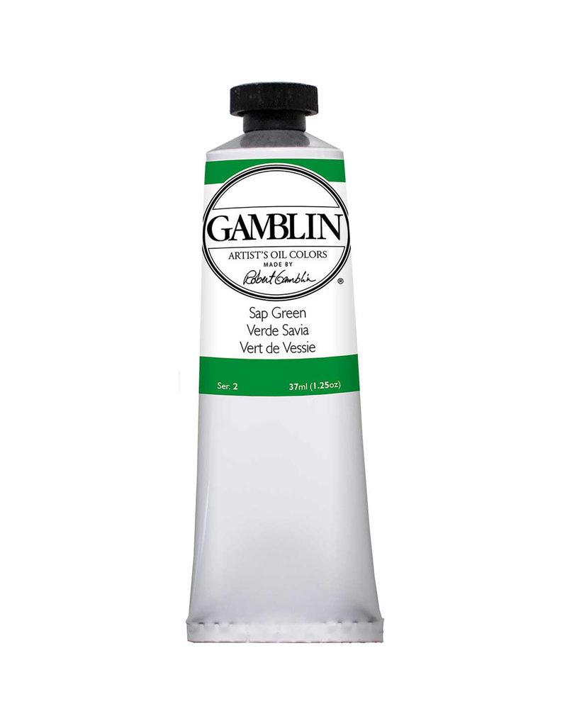 Gamblin Art Oil 37Ml Sap Green