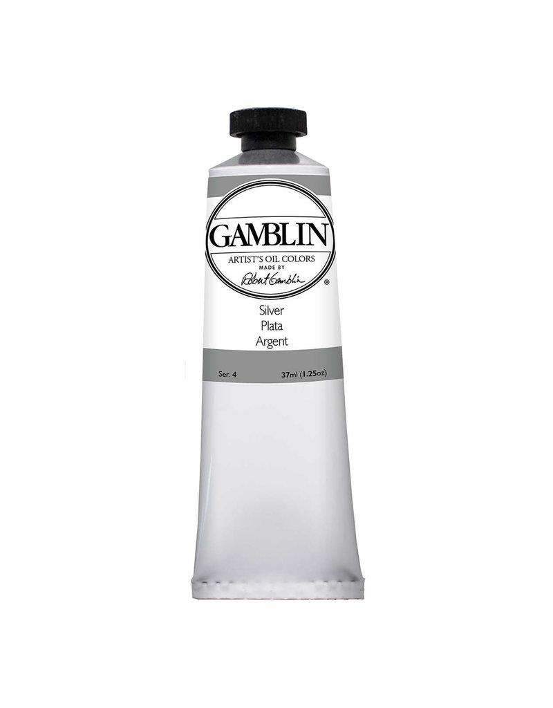 Gamblin Art Oil 37Ml Silver