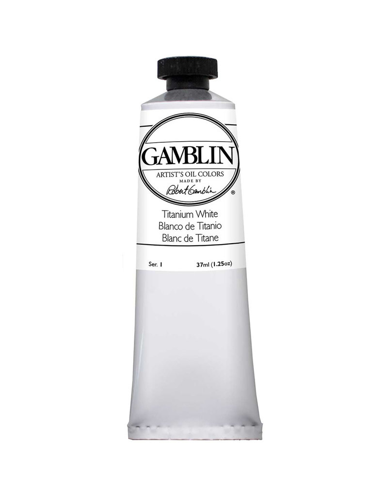Gamblin Art Oil 37Ml Titanium White