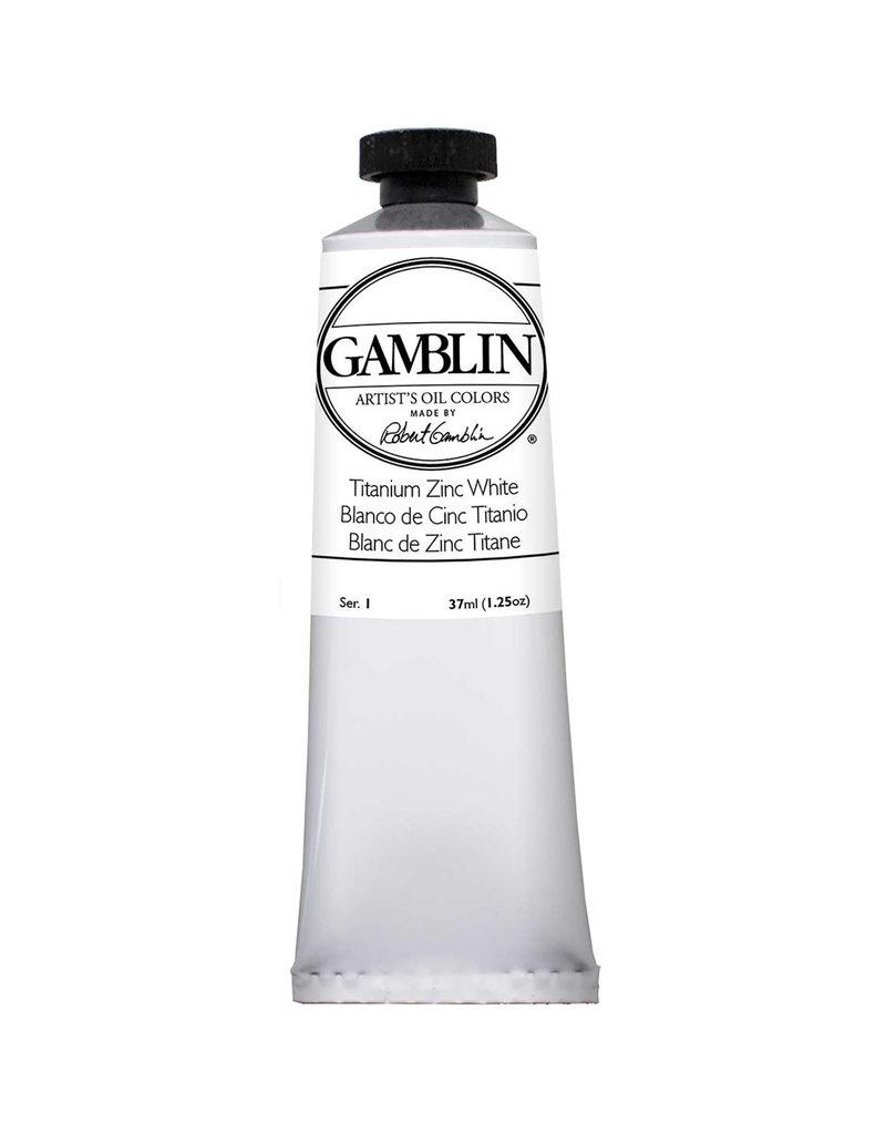 Gamblin Art Oil 37Ml Titanium-Zinc White