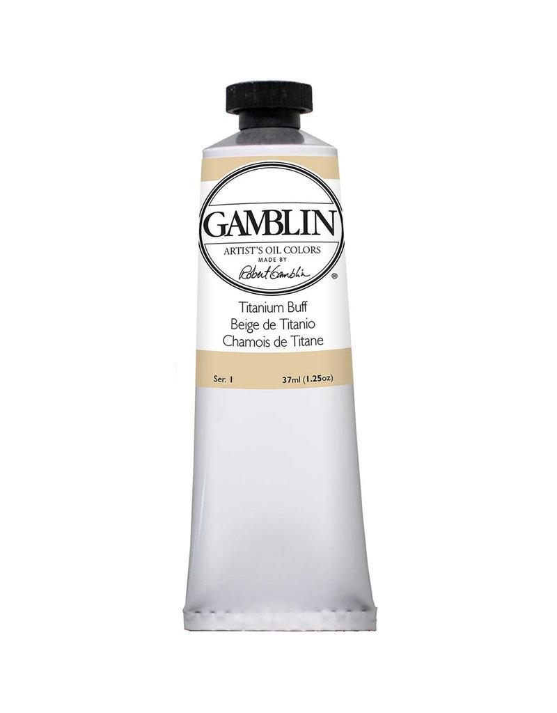 Gamblin Art Oil 37Ml Titanium Buff