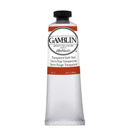 Gamblin Art Oil 37Ml Transparent  Earth Red