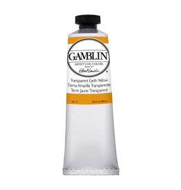 Gamblin Art Oil 37Ml Transparent Earth Yellow