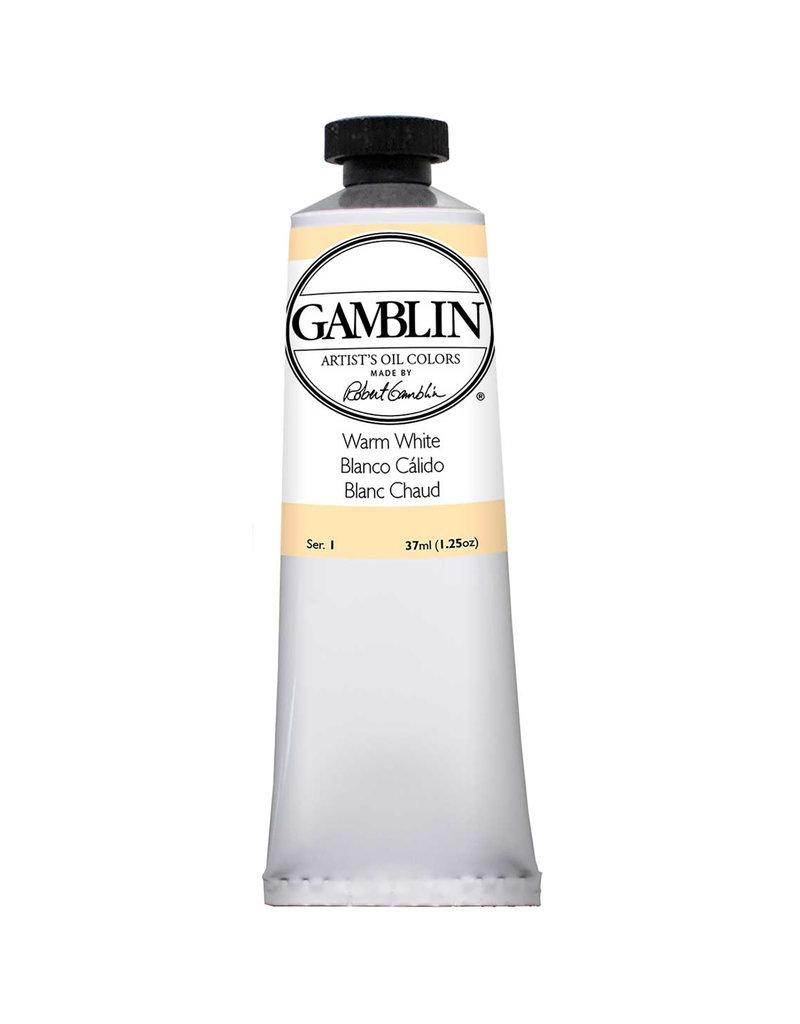 Gamblin Art Oil 37Ml Warm White