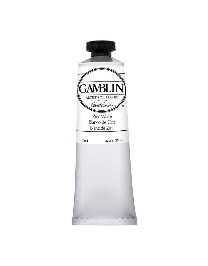 Gamblin Art Oil 37Ml Zinc White