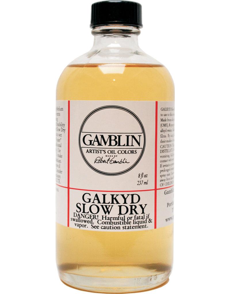 Gamblin Galkyd Slow Drying 8 Oz