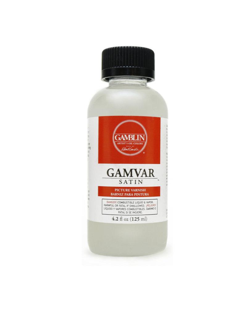 Gamblin Gamvar Satin Varnish 4.2 Oz