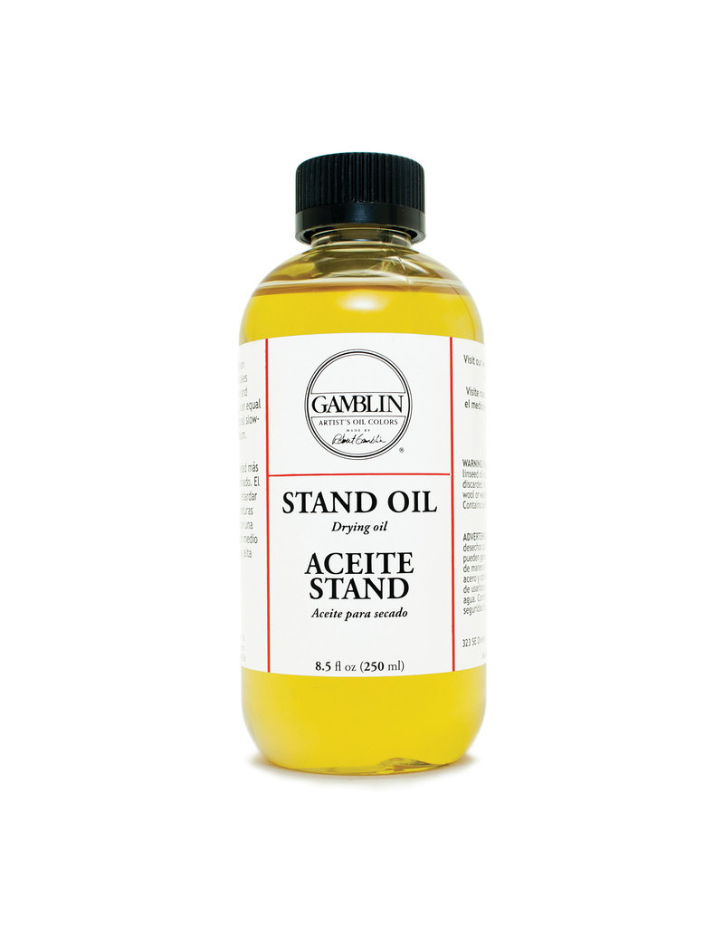 Gamblin Linseed Stand Oil 8 Oz